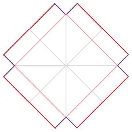 h1>Caja cuadrada o Bento (origami facil)</h1> : VCTRY's BLOG