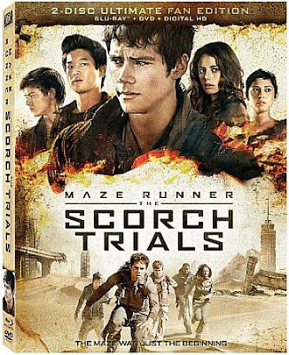 Maze Runner: The Scorch Trials Blu-ray cover