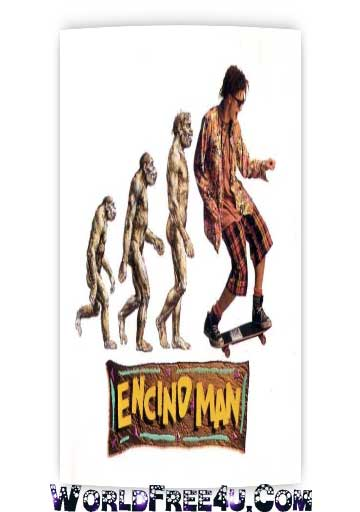 Poster Of Encino Man (1992) Full Movie Hindi Dubbed Free Download Watch Online At worldfree4u.com