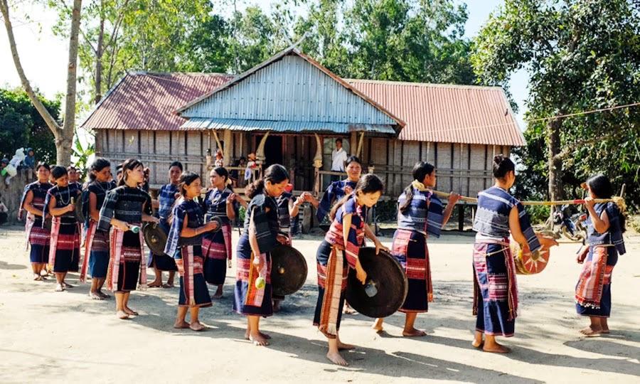 Gia Lai: Độc đáo đội chiêng nữ