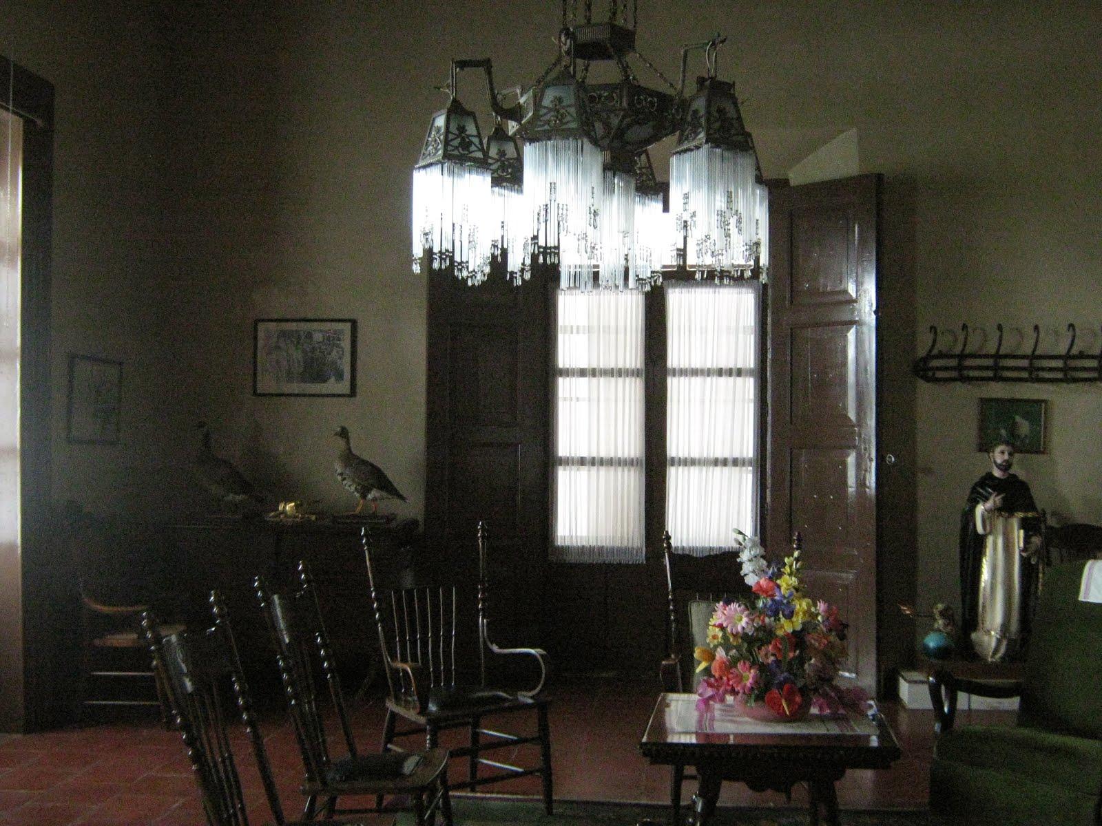 El salón de Santo Domingo Atlapaleca