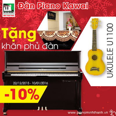 khuyen mai dan piano kawai cuoi nam