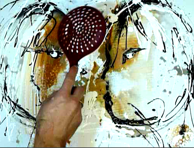 Abstract paintings by peter dranitsin how to create for Acrylic paint effects