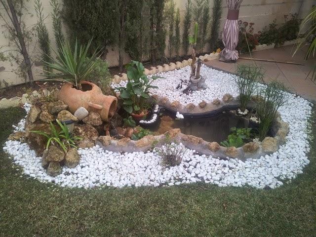 Decoraci n de jardines en apartamentos cascadas y jardines - Decoracion en jardines ...