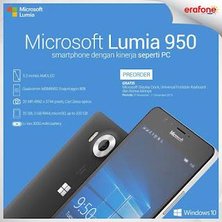 Promo Akhir Tahun 2015 Microsoft Lumia 950