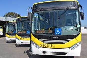 Novos ônibus chegam a São Sebastião