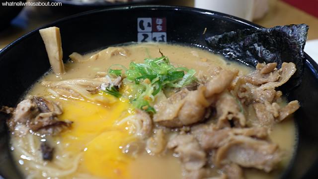 Neil Writes About Ramen Iroha's Tokyo Ramen Show winning Ramen Offerings Pork Niku Soba