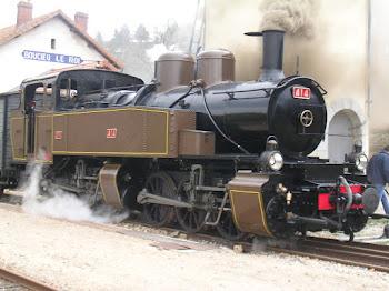 Locomotora de vapor 414