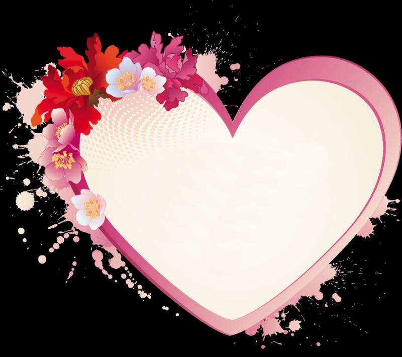 Marcos para fotos de corazones y estrellas tattoo design - Marcos de corazones para fotos ...