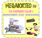 MEGA SORTEO DE REDECORATE CON LOLA Y THE RASPBERRY COLOR