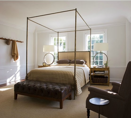 Coisas giras camas de dossel sem cortinas four poster - Cortinas para cama ...