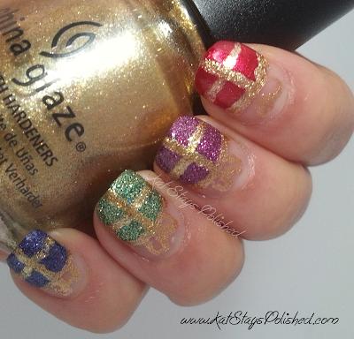 China Glaze Happy HoliGlaze - Holiday Gift Nail Art