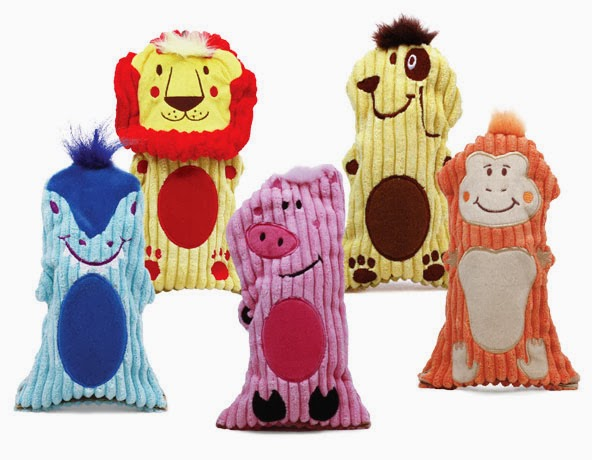 Kyjen Water Bottle Buddies Dog Chew Toys
