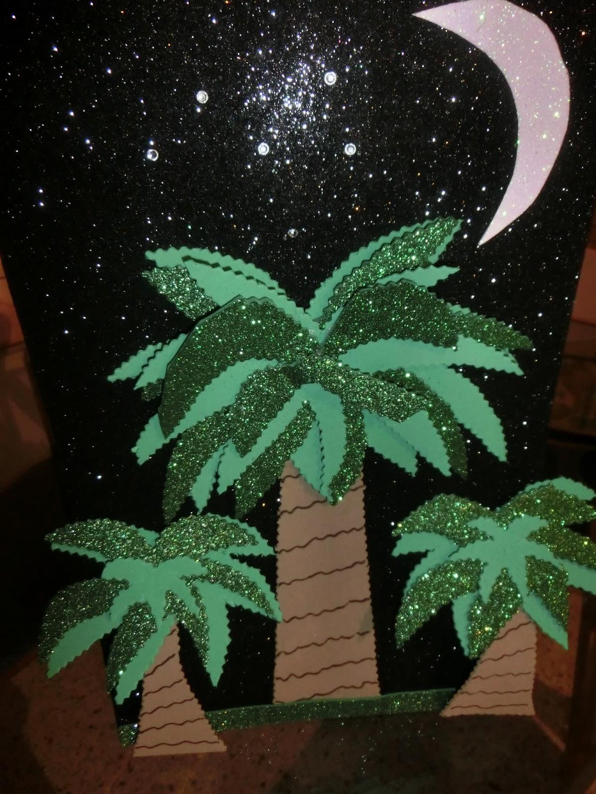 Como hacer una palmera de goma eva imagui - Como hacer una palmera artificial ...
