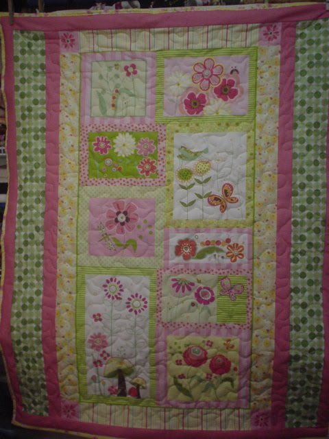 Inch Worm Fabrics Baby Quilts From Panels