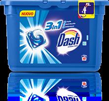 Progetto Dash ecodosi pods 3 in 1