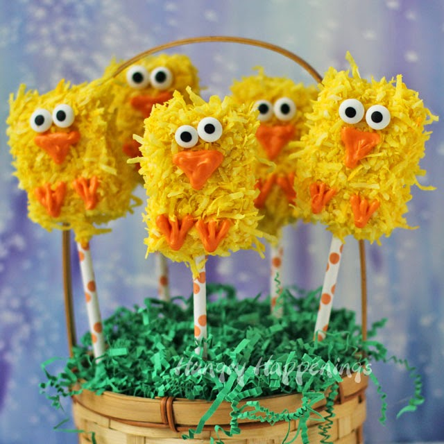 Rice Krispies Treat Chicks