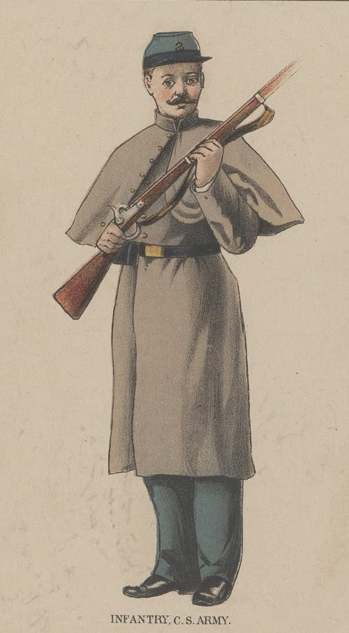 Confederate Infantry man picture 4