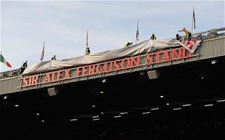 Sir Alex Ferguson Stand at Old Trafford