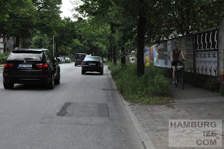 Gehwegradeln Krausestraße