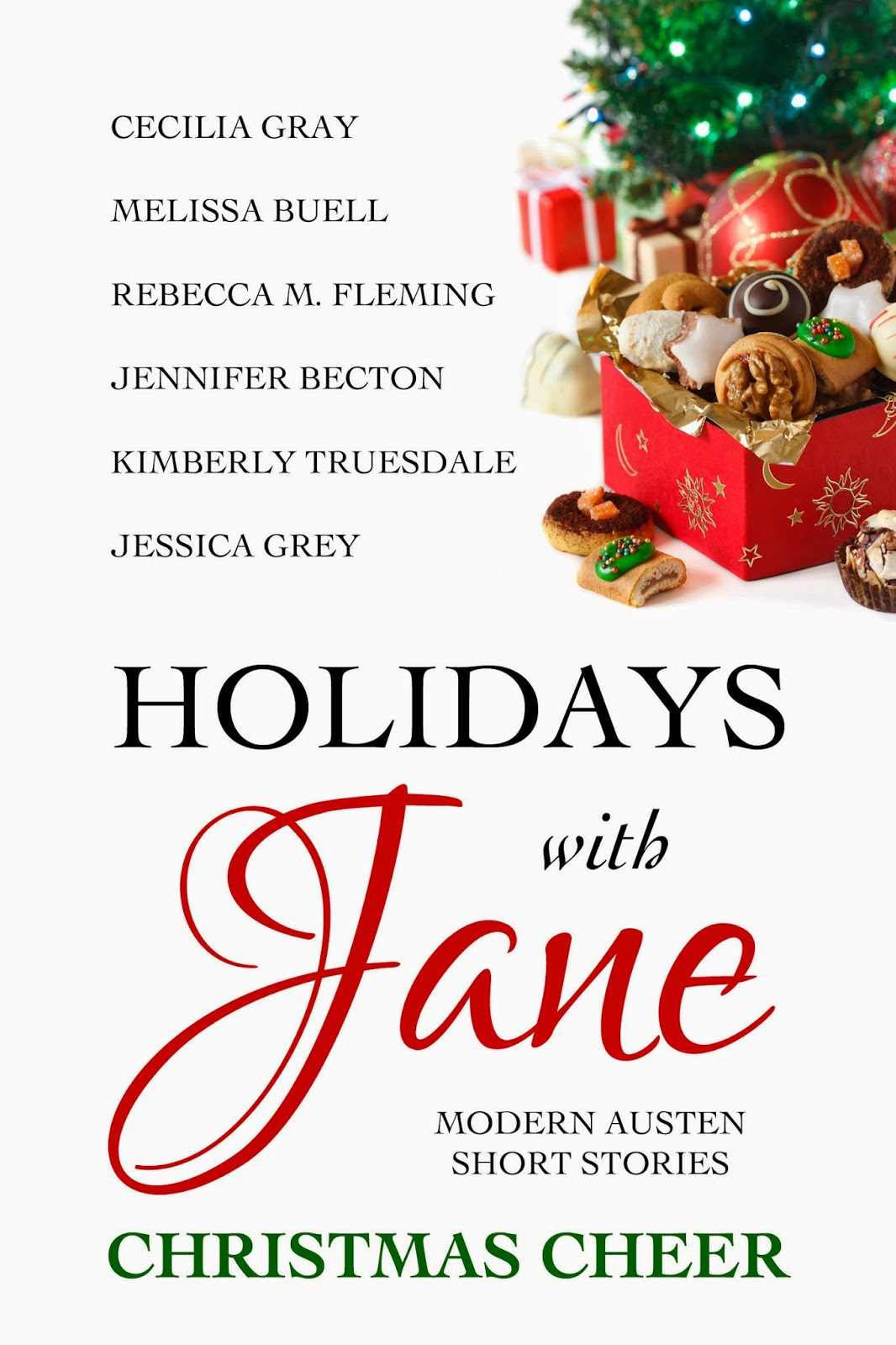Book cover: Holidays with Jane Christmas Cheer by various authors