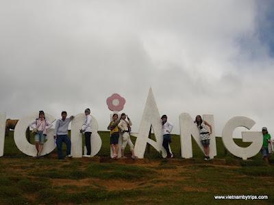 Dalat city - Langbiang moutain