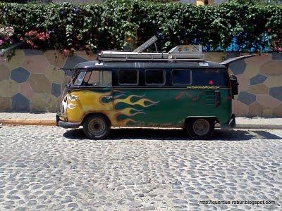 La combi viajera de Argentina