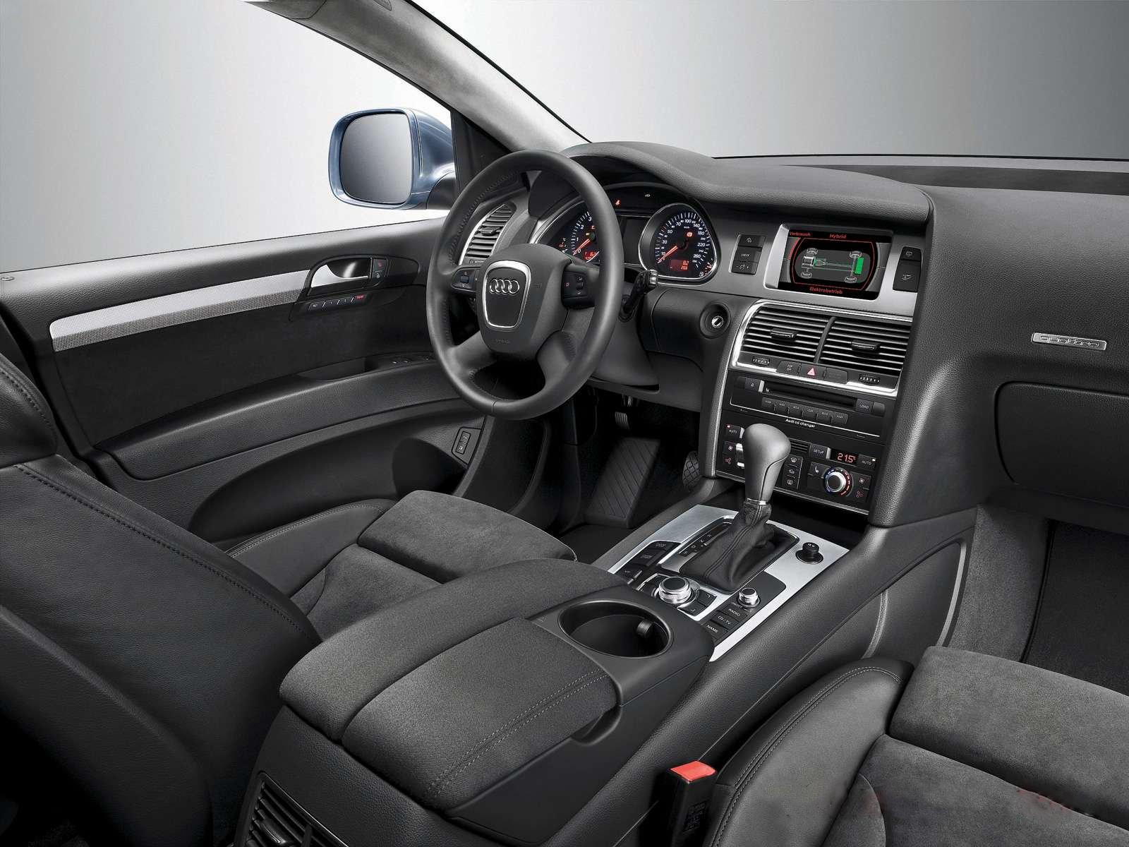 Audi q7 hybrid interior