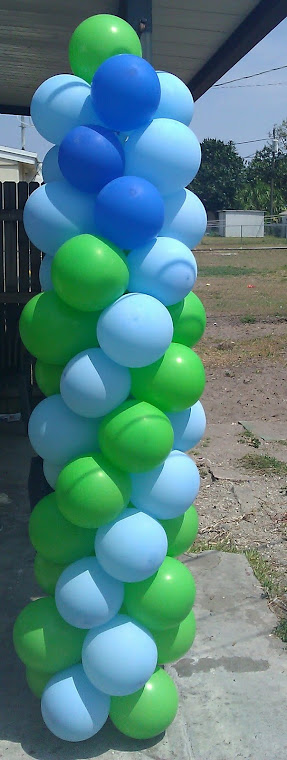 Balloon Columns by Marsha