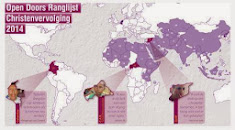 Ranglijst Christenvervolging 2014