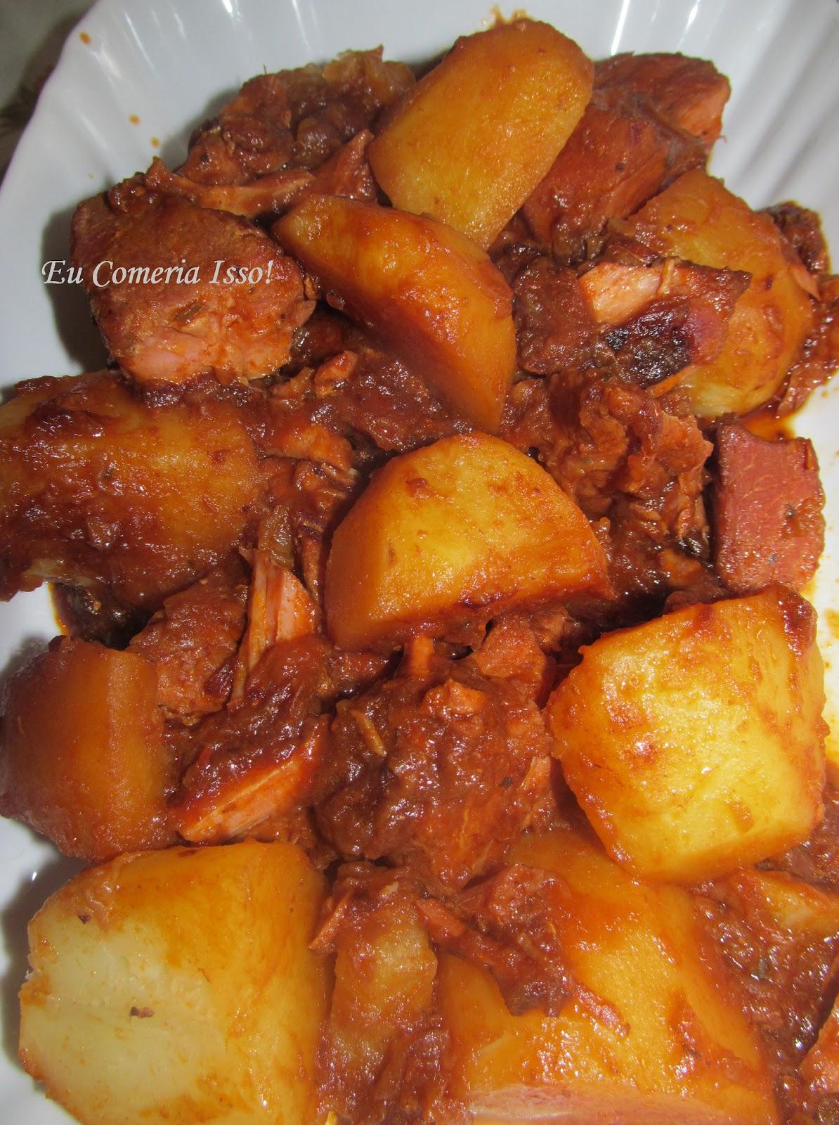 Conhecido Eu Comeria Isso!: Lombinho de Panela com Batatas SK44
