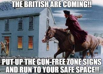 Gun Free Zone?