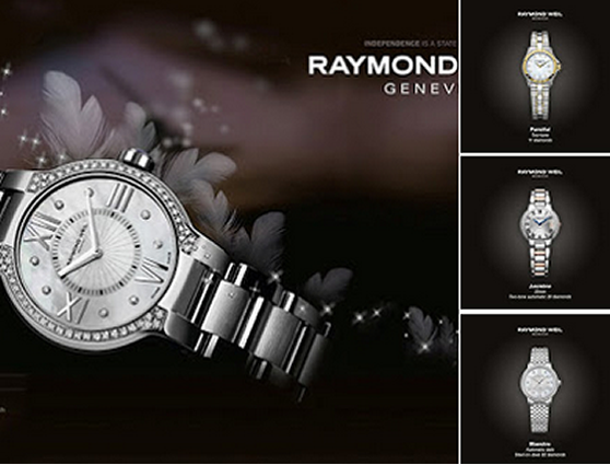 Raymond Weil horloges bij Juweliers Jehaes