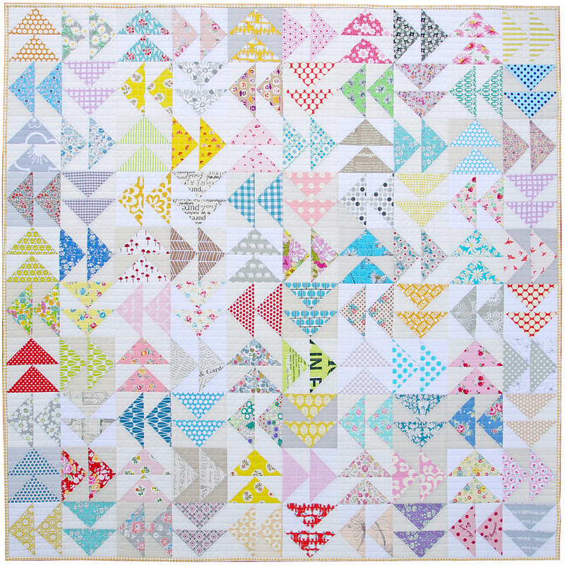 Flying Geese Quilt Pattern Clip Art