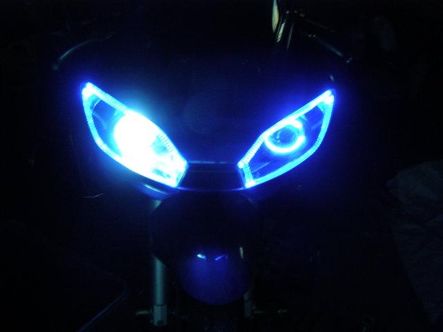 Lampu Led Motor yang Efisien, yang Hemat