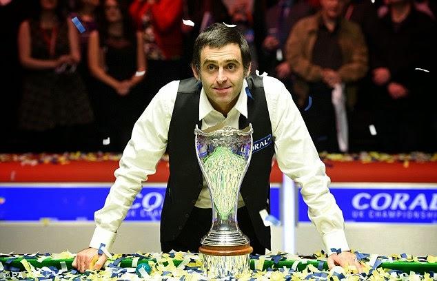 SNOOKER - UK Championship 2014. O'Sullivan campeón