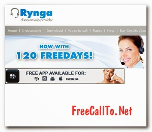 Free Calls with rynga 04