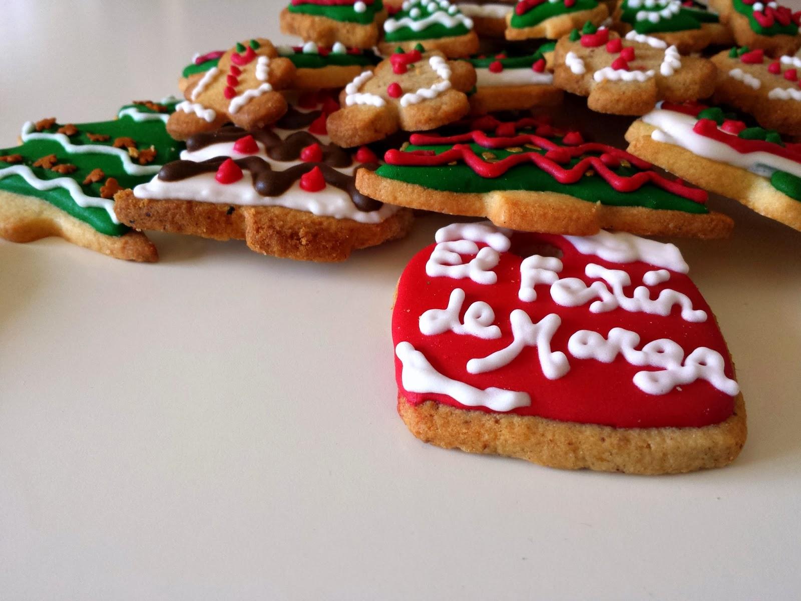 El festín de Marga: Galletas de Navidad decoradas con ...