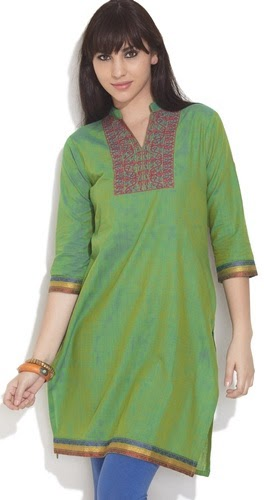 Stitch Long Kurtis in New Designs