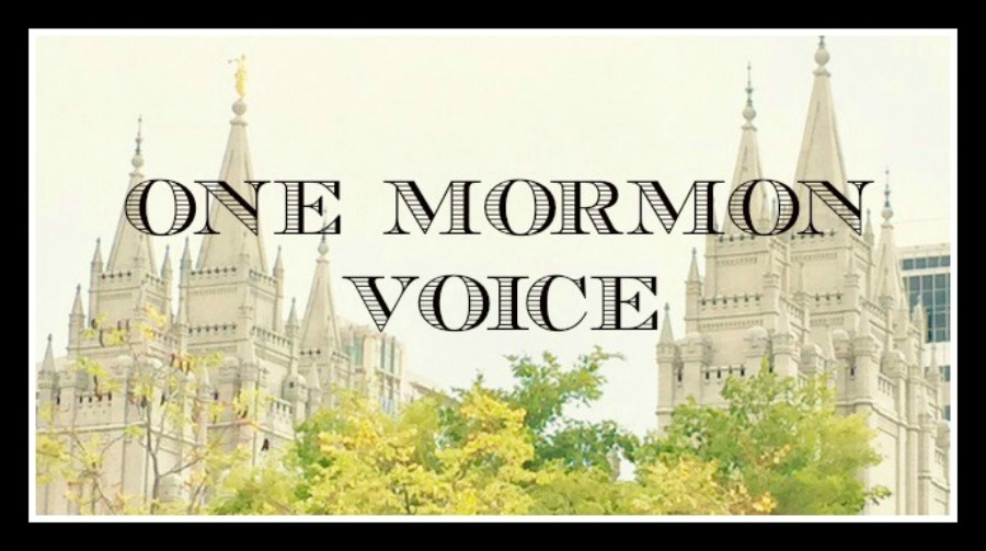 One Mormon Voice