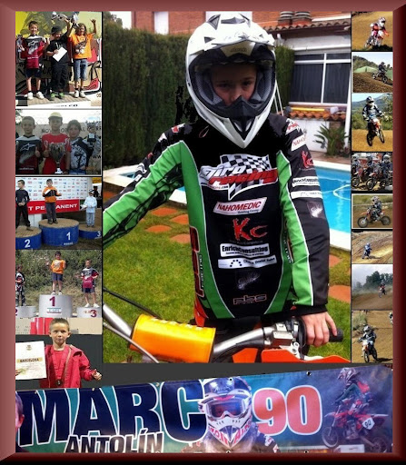Motocross, Marc Antolín