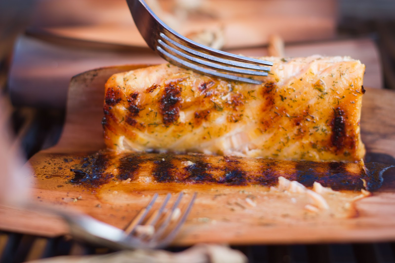 how to cook salmon wrapped in cedar