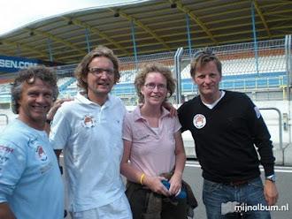 Met de prinsen en Jan Lammers op Assen racen tegen kanker 2009