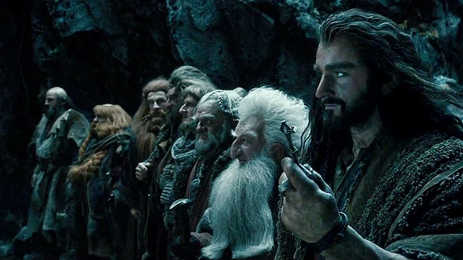 the dwarves desolation of smaug