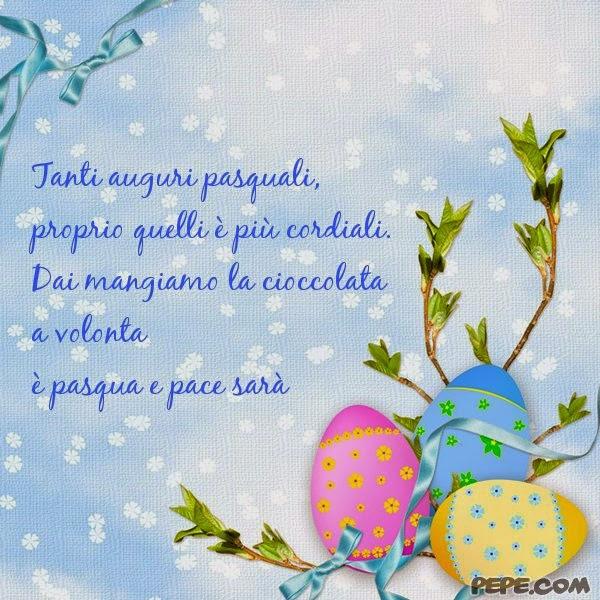 Che la vita continua speciale pasqua auguri buona for Cartoline auguri di buona pasqua