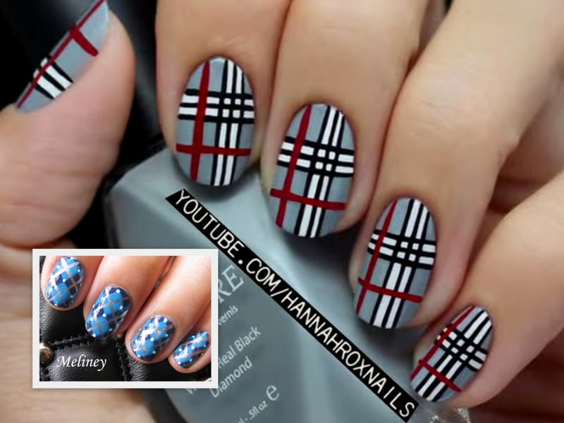 Video Of The Week: Plaid Nail Art