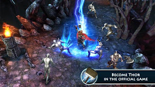 Screenshots of the Thor 2: the dark world for Android tablet, phone.