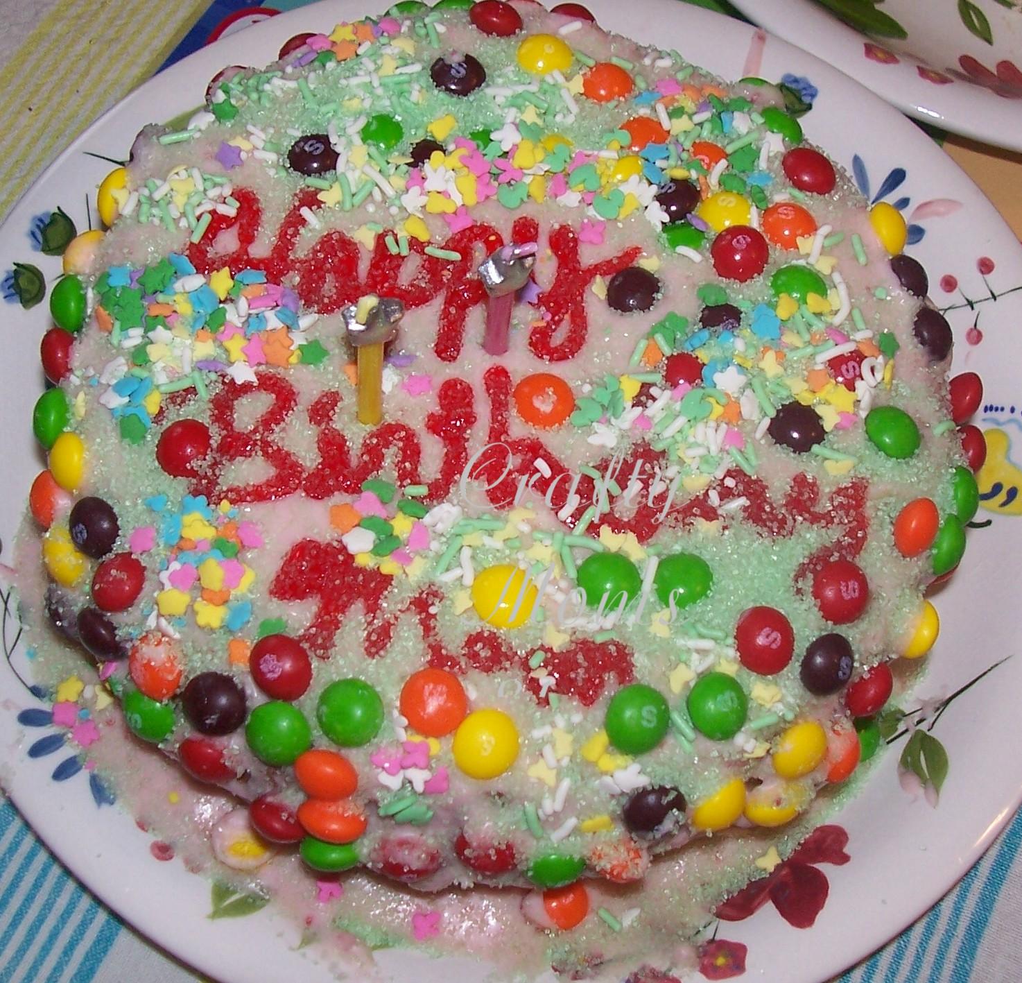 Crafty Moms Share Gluten Free Birthday Cake