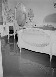 Bosco's flooded bedroom