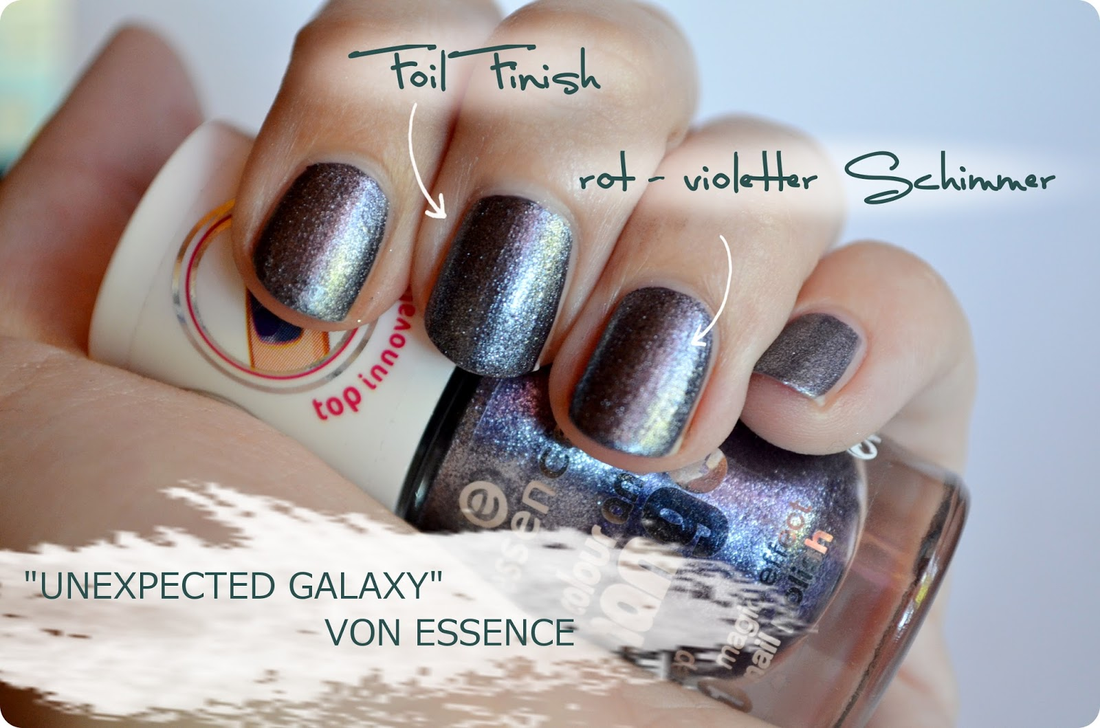 essence Colour & Change Nagellack unexpected galaxy
